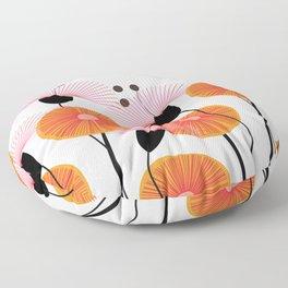 Weird Flowers Floor Pillow