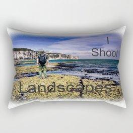 I Shoot Landscapes Rectangular Pillow