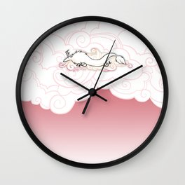 Zenny the artist  Wall Clock
