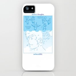 Shower Thoughts (awkwardIRL#10) iPhone Case