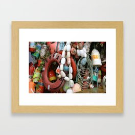 Newport, Oregon Framed Art Print