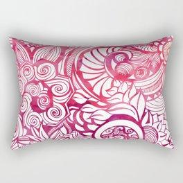 Summertime & the livin's easy (Pink) Rectangular Pillow