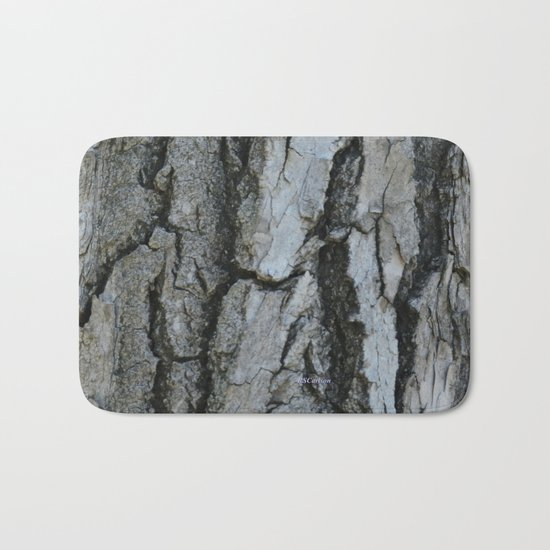 TEXTURES -- Fremont Cottonwood Bark Bath Mat