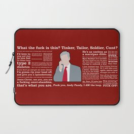 The Thick of It - Malcolm Tucker Laptop Sleeve