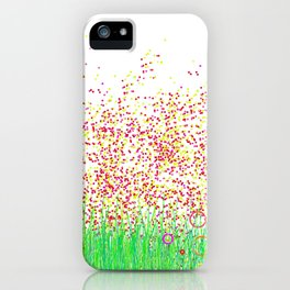 jardin punto iPhone Case