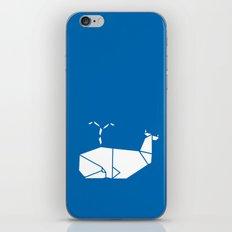 White Whale iPhone & iPod Skin