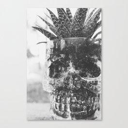 Spooky Succulent Canvas Print