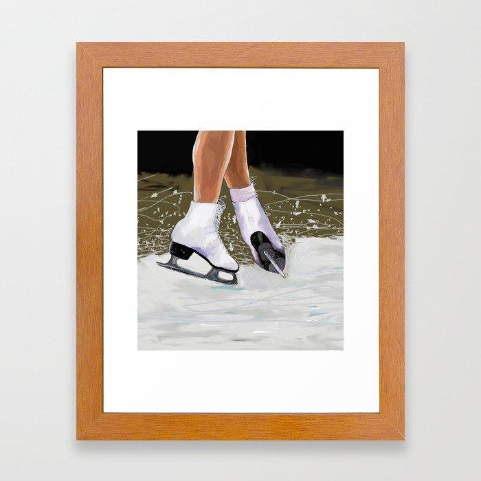 The Jump Framed Art Print