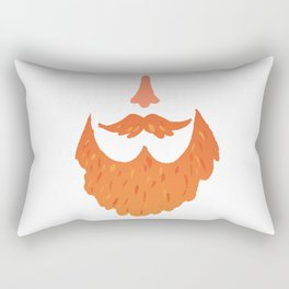 Ginger Beard Rectangular Pillow