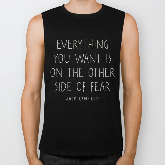 I. The other side of fear. Biker Tank