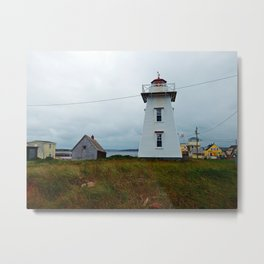North-Rustico Lighthouse Metal Print