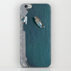 Blue bay iPhone Skin