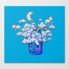 Bucket of Dreams Canvas Print