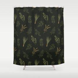 Fresh Herbs 2 Shower Curtain