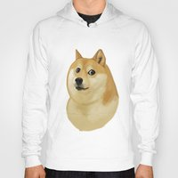 doge Hoodies featuring Doge by Brad Collins Art & Illustration
