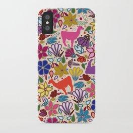 Peruvian Llamas iPhone Case