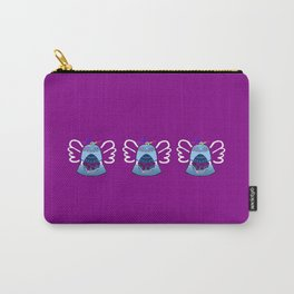 Bell on Purple Carry-All Pouch