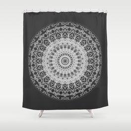 Mandala blast Shower Curtain