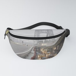 Mist on a Bridge Fanny Pack
