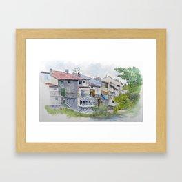 Rainy Quillan Framed Art Print