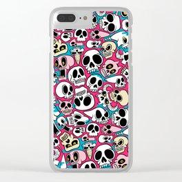 Skullz Clear iPhone Case