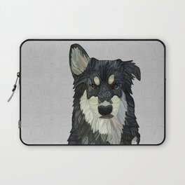 Bjorn - Malamute Samoyed Husky Mix Laptop Sleeve