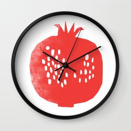 The king of fruits Wall Clock