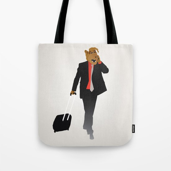 Industrious Alf Tote Bag