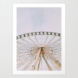 Paris de Roue Art Print