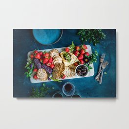 cheese platter Metal Print