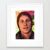 infamous Framed Art Prints featuring InFamous: Second Son - Delsin Rowe by Felicia