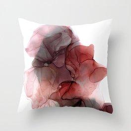 serene swirl Throw Pillow