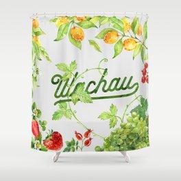 Fruits of the Wachau Shower Curtain