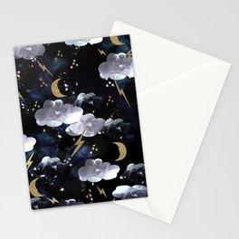 Cosmic lightning Stationery Cards