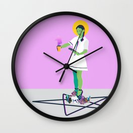 Crystal Intentions Wall Clock