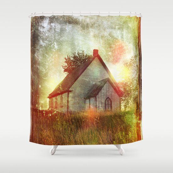 The Glorious Lost Sundays Shower Curtain