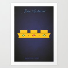 John Lackland | Villains do It Better Art Print