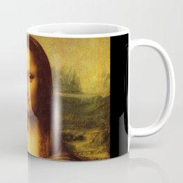 Leonardo Da Vinci Mona Lisa Painting Coffee Mug