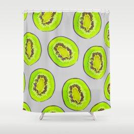 Kiwi Print Shower Curtain