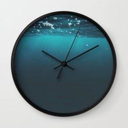 Enter Sea Wall Clock
