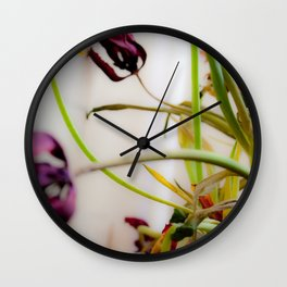 Seasons Past Wall Clock