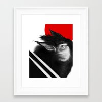 napoleon Framed Art Prints featuring Napoleon! by David Bernal