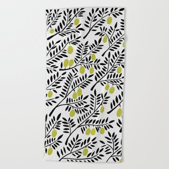 Little Lemons Beach Towel