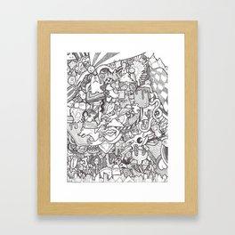 Collage #3 Framed Art Print