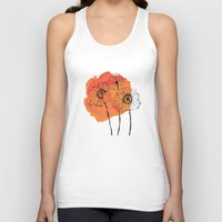 poppies Tank Tops featuring poppies by morgan kendall