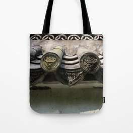 Chinese Roof Tote Bag