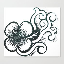 Flower. Canvas Print