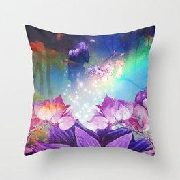 Sovereign Goddess Throw Pillow