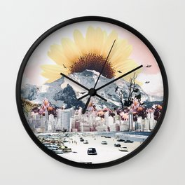 Daytona Sun Wall Clock