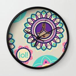 Punjabi lolita Wall Clock